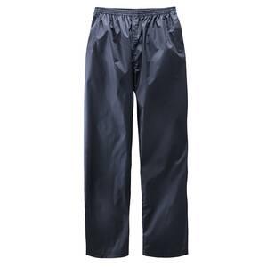 Regenhosen mit Reflektoren, Farbe blau   Sportbekleidung > Sporthosen > Regenhosen   Polyester