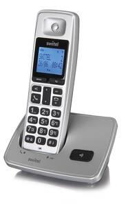 Komfort Telefon mit langer Akkulaufzeit und Ladestation Switel