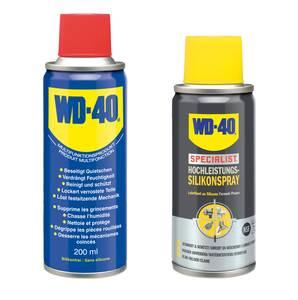Multifunktionsspray 200 ml + Specialist Silikonspray 100 ml WD-40