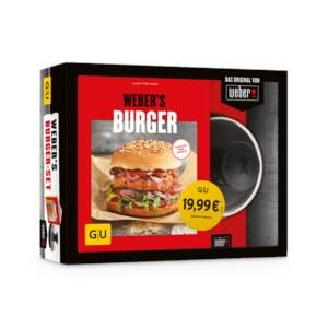 Grillbuch Weber#s Burger + Burgerpresse Weber
