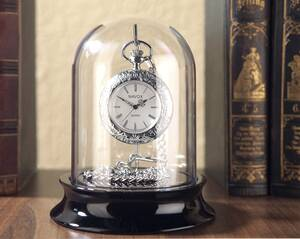 Sammelglocke für Taschenuhren, Echtglas Westfalia