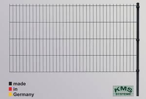 Zaunset Ergänzung Easy-B-Easy verschiedene Höhen, Farbe anthrazit KMS