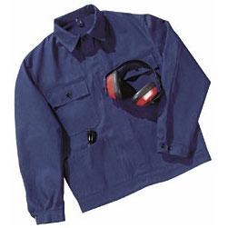 Arbeits Jacke, hydronblau, Größe 60