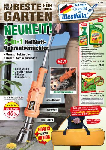 Westfalia Garten Katalog