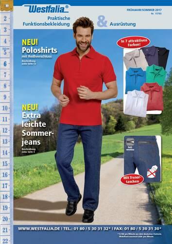 Westfalia Textil und Bekleidung Katalog