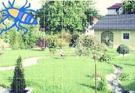 fliegengitter f r dachfenster verschiedene farben bei westfalia versand schweiz. Black Bedroom Furniture Sets. Home Design Ideas