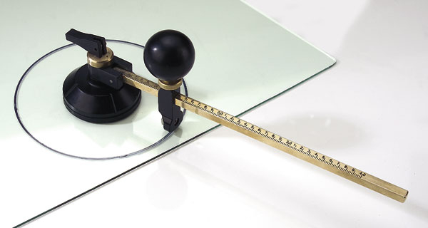glas rundschneider 40 cm verstellbarer rundschneider bei westfalia versand deutschland. Black Bedroom Furniture Sets. Home Design Ideas
