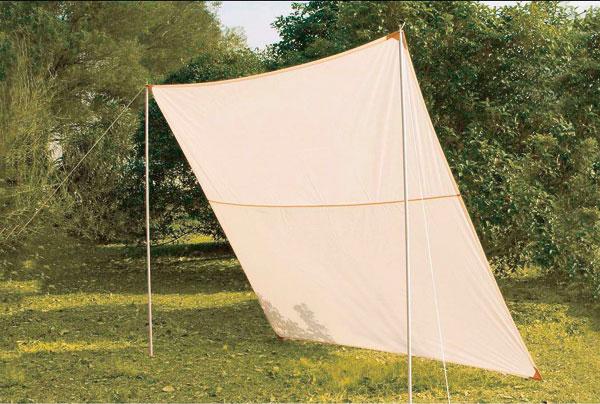 sonnensegel 2 5 x 3 m mit zubeh r bei westfalia versand deutschland. Black Bedroom Furniture Sets. Home Design Ideas