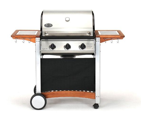 3 brenner gas grill sizzler 300 pro mit edelstahl grillhaube. Black Bedroom Furniture Sets. Home Design Ideas