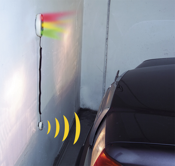 Garage Traffic Light At Westfalia Mail Order