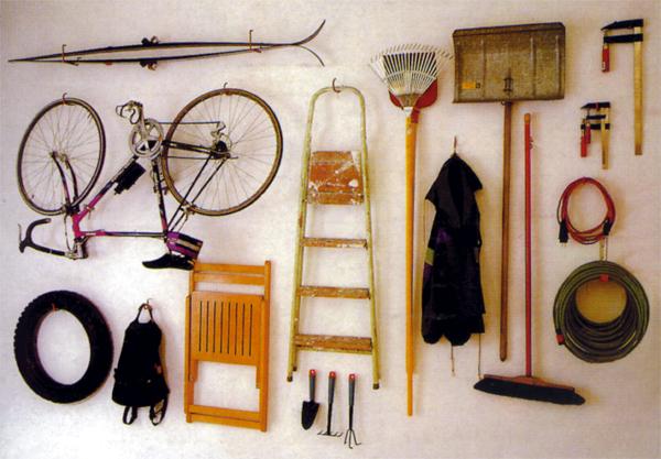 haken set 30 tlg f r mehr ordnung in der garage im. Black Bedroom Furniture Sets. Home Design Ideas