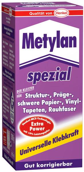 spezial kleister metylan 200 g f r alle tapetenarten bei westfalia versand deutschland. Black Bedroom Furniture Sets. Home Design Ideas