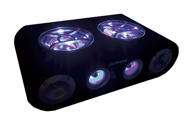 subwoofer boom box blue xt auto lautsprecher ebay. Black Bedroom Furniture Sets. Home Design Ideas