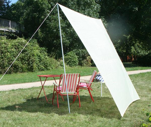 sonnensegel set 3 f camping u garten viereckform 4 x 4. Black Bedroom Furniture Sets. Home Design Ideas