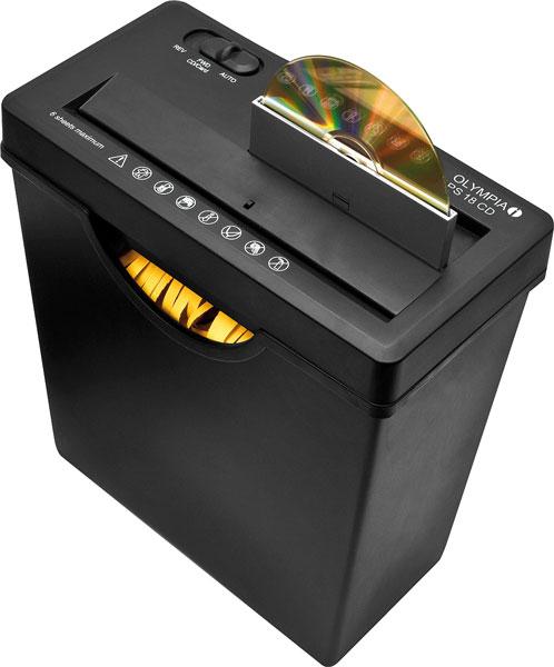 aktenvernichter mit cd schredder streifenschnitt bei westfalia versand deutschland. Black Bedroom Furniture Sets. Home Design Ideas