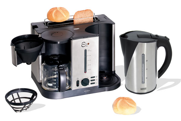 fr hst cksset 3 in 1 kaffeemaschine wasserkocher toaster ebay. Black Bedroom Furniture Sets. Home Design Ideas