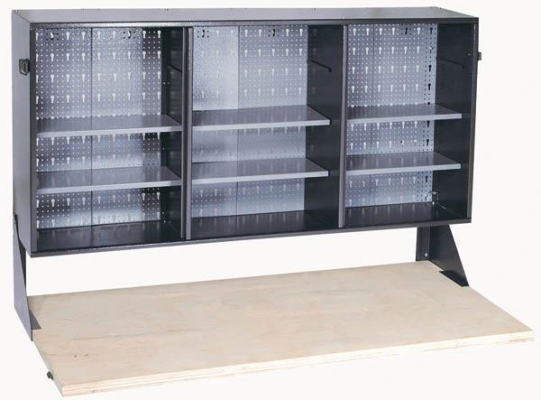 werkstattschrank klappwerkbank mit multiplex arbeitsplatte ebay. Black Bedroom Furniture Sets. Home Design Ideas