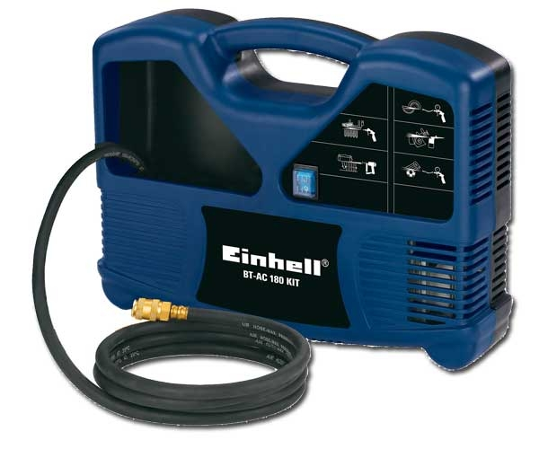 einhell kompressoren set bt ac 180 kit kompressor zubeh r ebay. Black Bedroom Furniture Sets. Home Design Ideas