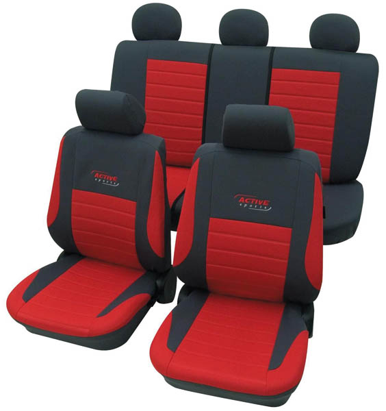 Complete Car Seat Cover Set Active Sport In Various Colours