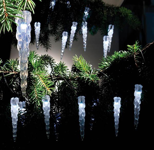 solar lichterkette eiszapfen weihnachtsbeleuchtung led ip44 21 tlg ebay. Black Bedroom Furniture Sets. Home Design Ideas