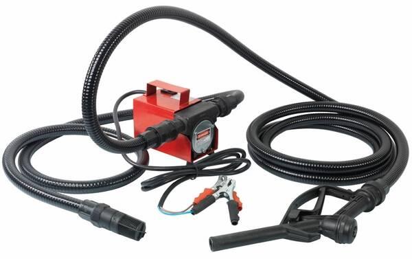 absauganlage mit 12 volt pumpe und pistole kraftstoffe abpumpen ebay. Black Bedroom Furniture Sets. Home Design Ideas