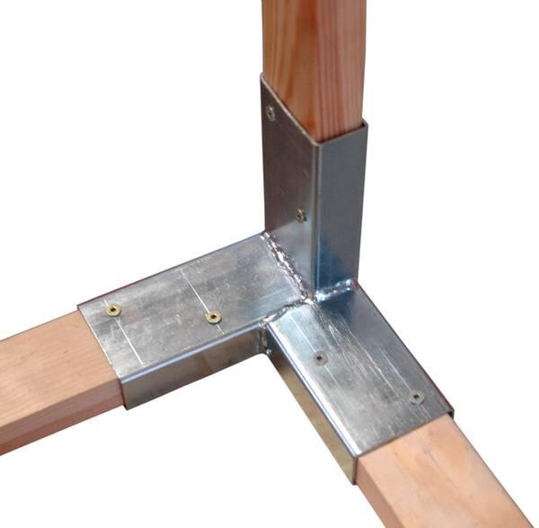 holzverbinder zum zusammenstecken von dachlatten 24 x 48 mm ebay. Black Bedroom Furniture Sets. Home Design Ideas