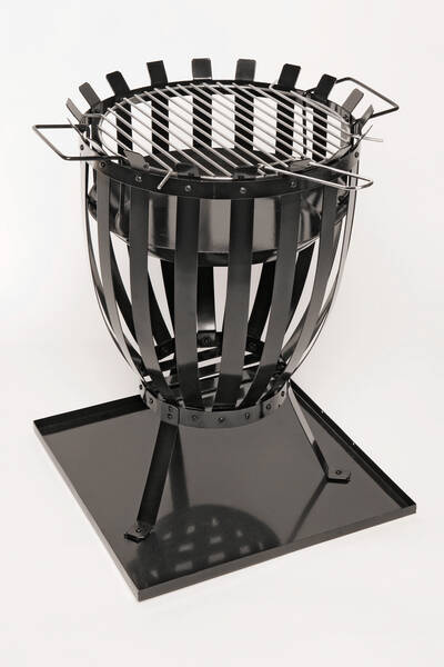feuerkorb feuerstelle f r garten und terrasse bei westfalia versand deutschland. Black Bedroom Furniture Sets. Home Design Ideas