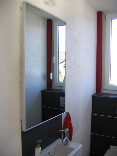 infranomic infrarot heizger t 90 x 60 cm spiegel mit alurahmen bei westfalia versand deutschland. Black Bedroom Furniture Sets. Home Design Ideas