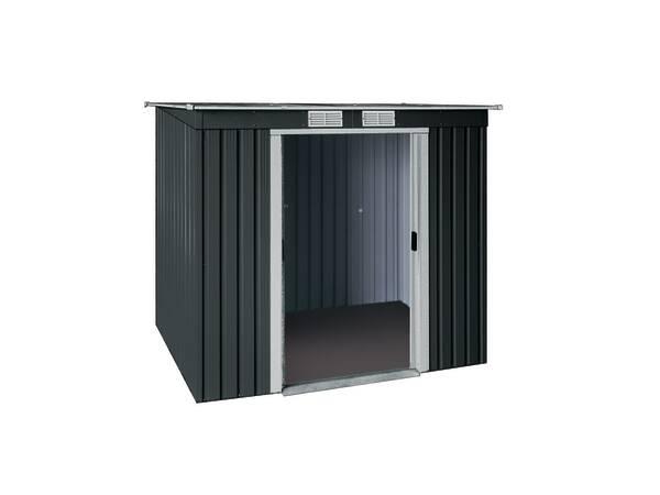 metall ger tehaus classic line pultdach pd 6x4 anthrazit 2 52 m bei westfalia versand. Black Bedroom Furniture Sets. Home Design Ideas