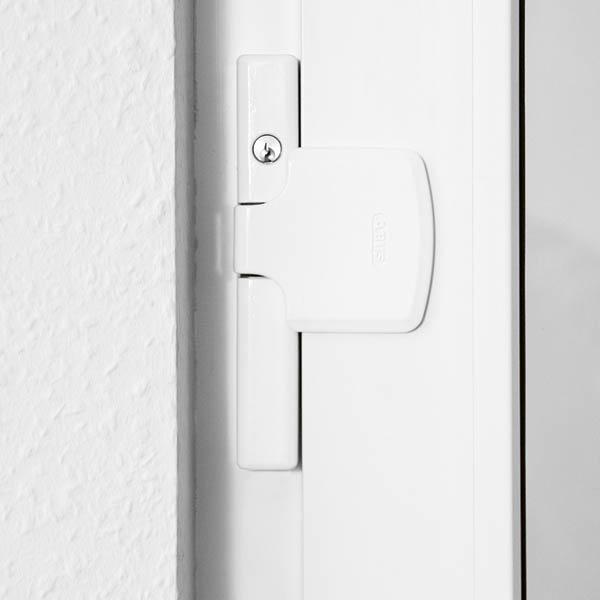 abus fenster und t rsicherung abschlie bar farbe wei ebay. Black Bedroom Furniture Sets. Home Design Ideas