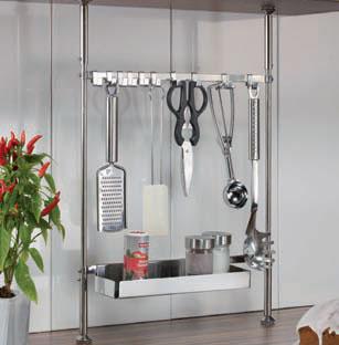 teleskop k chenreling 48 65 cm h henverstellbar ebay. Black Bedroom Furniture Sets. Home Design Ideas