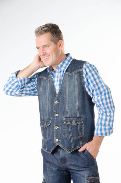 herren jeans weste bluestone verschiedene gr ssen bei. Black Bedroom Furniture Sets. Home Design Ideas