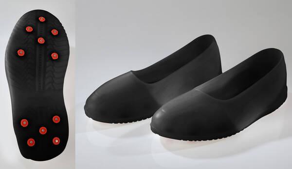 silikon schuhe mit spikes verschiedene gr en farbe schwarz. Black Bedroom Furniture Sets. Home Design Ideas