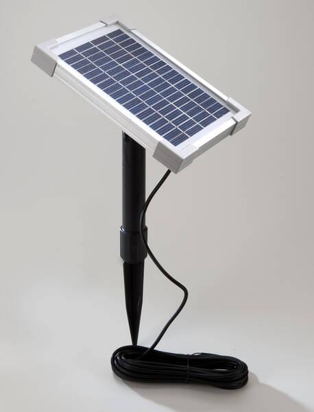 edelstahl leuchten solarbetrieb 12v mit optionalem. Black Bedroom Furniture Sets. Home Design Ideas