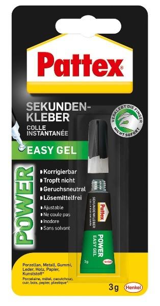 Sekundenkleber power easy korrigierbares gel bei for Versand deutschland