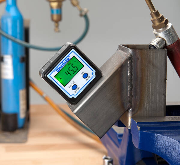 Electronic Measuring Devices Measure : Digital angle measuring device at westfalia mail order uk