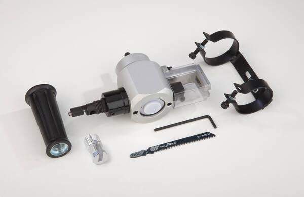 2in1 vorsatzger t f r bohrmaschinen und akkuschrauber blechknabber stichs ge ebay. Black Bedroom Furniture Sets. Home Design Ideas