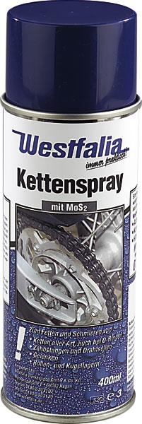 Westfalia Kettenspray 400 ml mit MOS2 744530