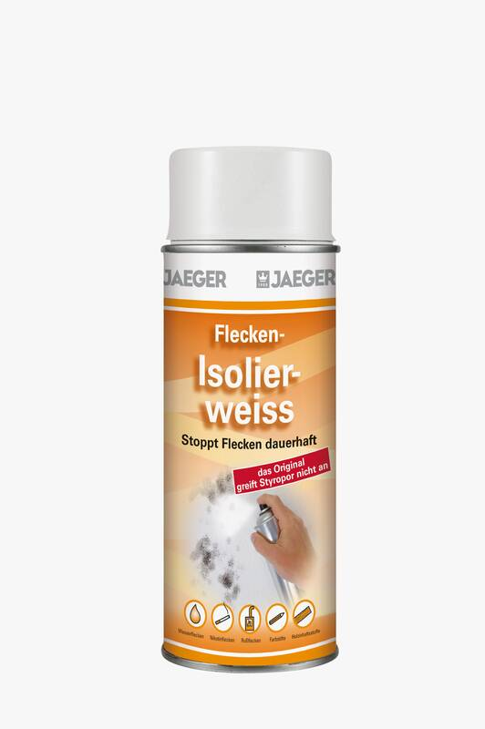 JAEGER Universal Flecken - Isolierweiß, 400 ml Spraydose 124901016-044