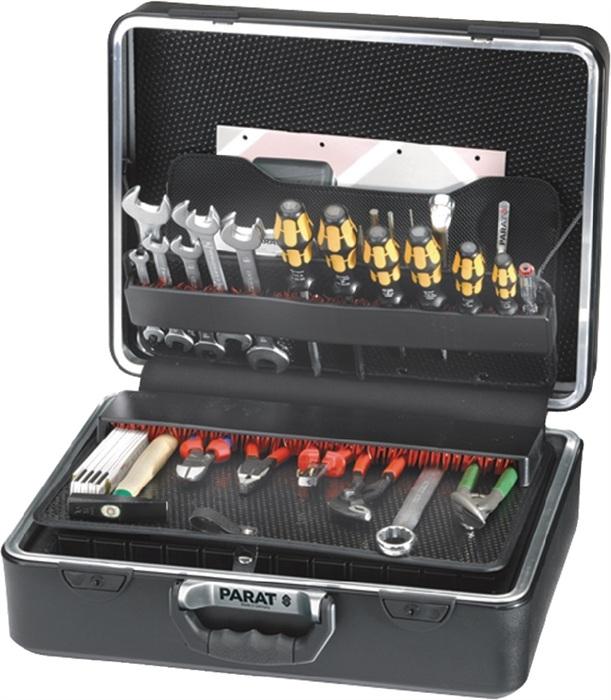 Parat Schalenkoffer X-ABS, 470x355x205mm, Alu-Doppelrahmen mit CP-7 Stecksystem, schwarz 4000871763