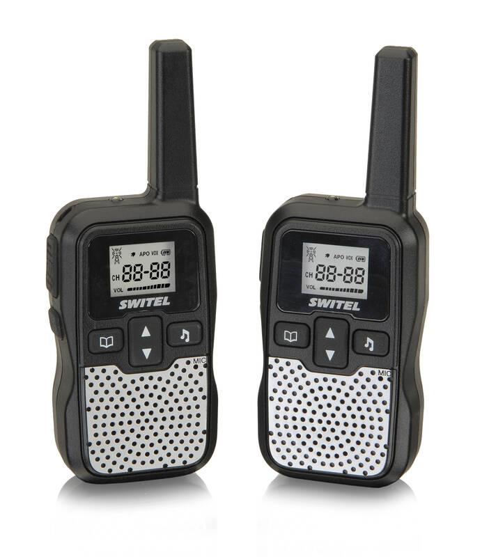 Switel Funkgeräte-Set mit automatischer Sprachaktivierung WTE2320