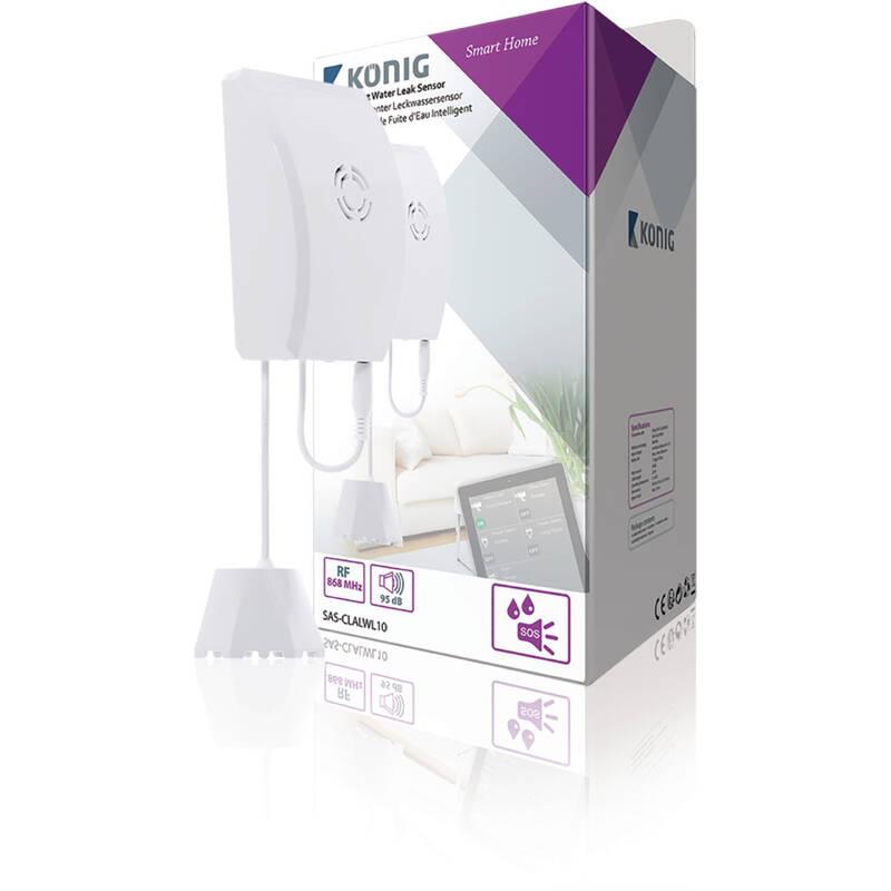 König Smart waterleksensor SAS-CLALWL10 868 Mhz