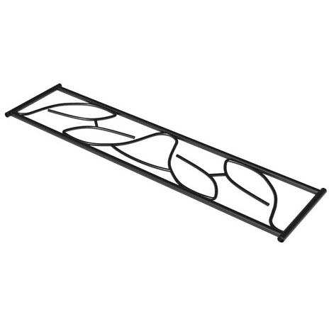 SecuBar Siertralie Deco 2, Zwart, Op de dag, 250 x 825 mm