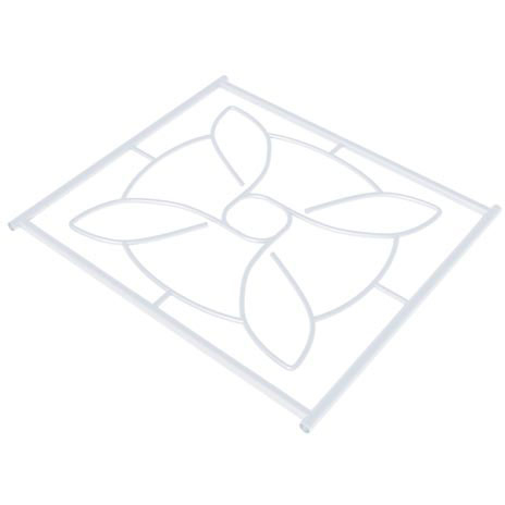 SecuBar Siertralie Deco 1, Wit, Op de dag, 540 x 525 mm