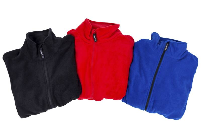 Fleece jacket, rood, maat L