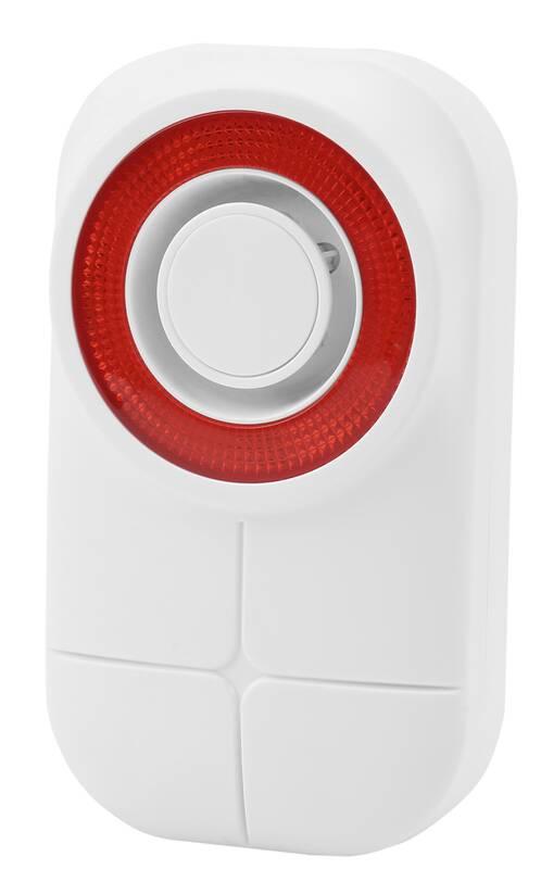Buitensirene Draadloos met Geluid en Licht voor Alarmset Protect 9661
