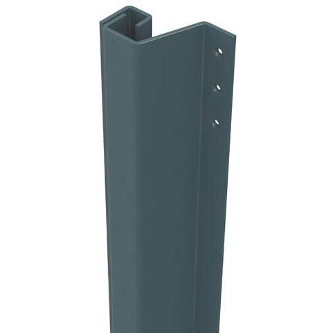 SecuStrip Anti-Inbraakstrip Plus, Achterdeur, Grijs, 2300 mm, terugligging 0-6 mm