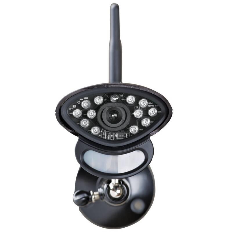 Draadloze bewakingscamera voor digitale radiomonitoringsysteem art. 887920 en art. 888019