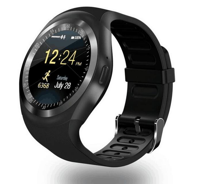 Smartwatch TG-SW1 Zwart met fitness en media functie