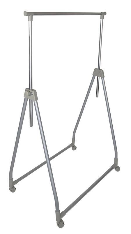Westfalia Opvouwbaar stevig kledingrek in hoogte verstelbaar tot maar liefst 167 cm